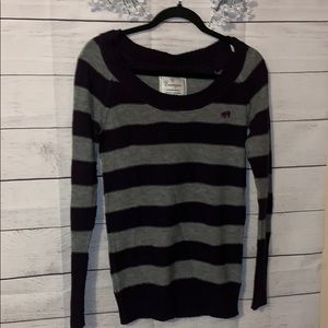 Energie striped sweater, soft and comfortable